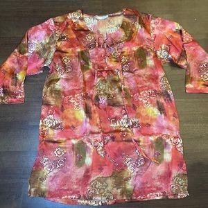 Vintage Silk Gold Label Victoria Secret Nightgown